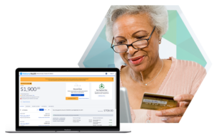 Patient Uses Self-Service Payment Portal