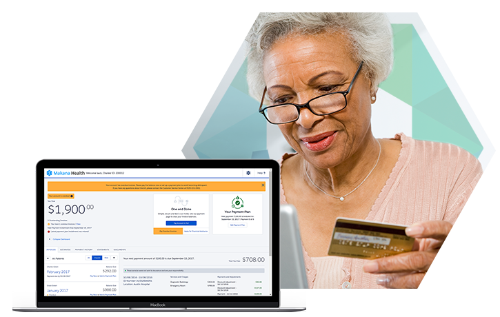 Patient Uses Self-Service Payment Portal